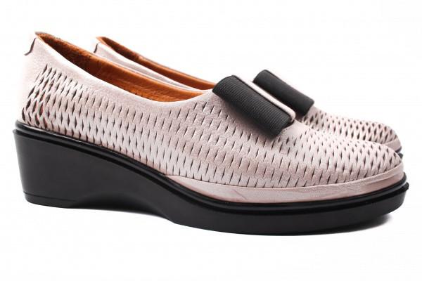Туфли комфорт Missy натуральный сатин, цвет розовый