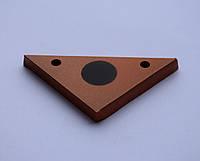 Гонг мишень 100х50 треугольник для мелкокалиберного Сателит (603)