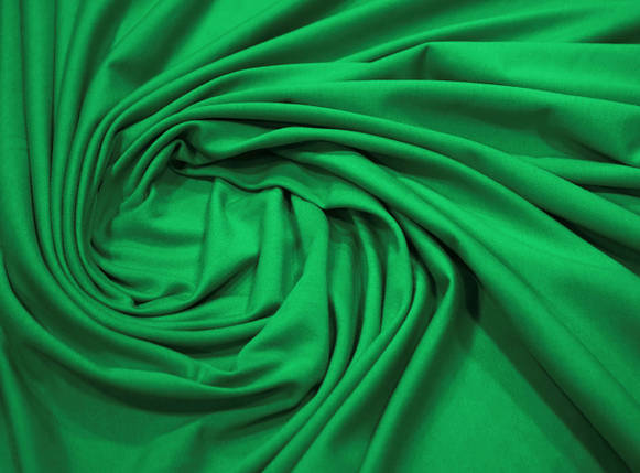 Футер двунитка зеленая (180 см), фото 2