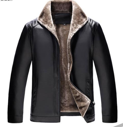 920fd86480c40 Мужская зимняя кожаная куртка. Модель 1883 - купить Украина ...