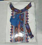 Детская вышиванка на домотканом полотне , фото 7