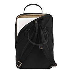 Рюкзак Fjallraven Kanken No. 2 Laptop 15 Black, фото 2