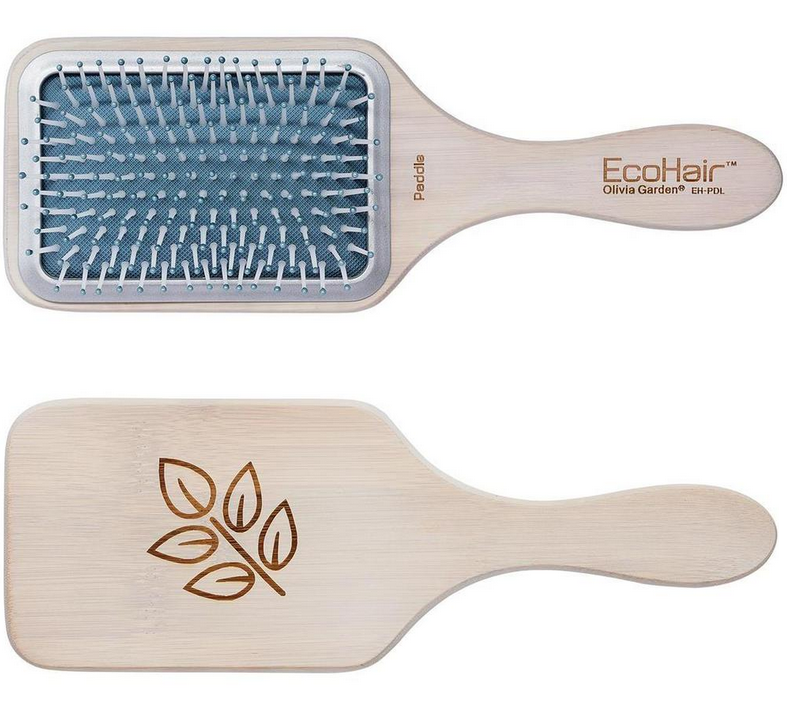 Щетка массажная бамбуковая Olivia Garden Eco Hair Eco-Friendly Bamboo Paddle Collection Paddle, OGBEHPDL