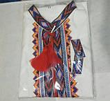 Вышиванка для мальчика на домотканой ткани , фото 8