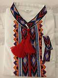 Вышиванка для мальчика на домотканой ткани , фото 7