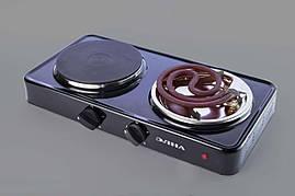 Электроплита Элна101А двухконфорочная комбинированная 2,7кВт