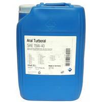 Моторное масло Aral Turboral sae 15w40 20л