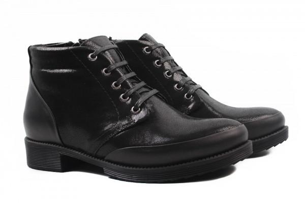 Ботинки Molly Bessa натуральный сатин, цвет черный