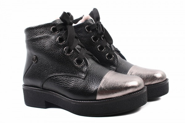 Ботинки Premio натуральная кожа, цвет черный