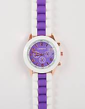 Женские наручные силиконовые часы Geneva копия, Женева