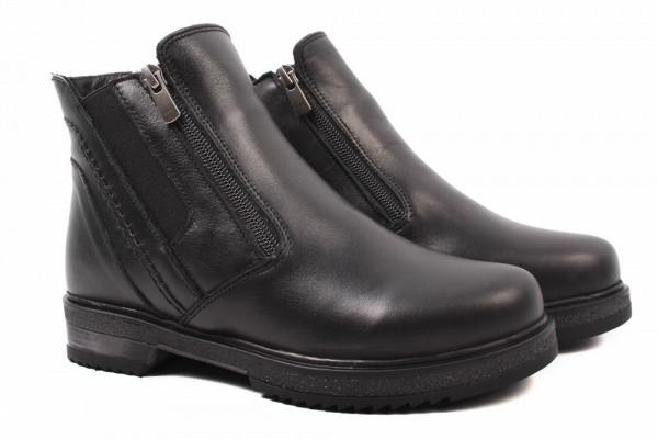 Ботинки Vivo натуральная кожа, цвет черный