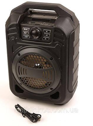 Акустическая система радиоприемник портативный бумбокс Радио B13 SUPER BASS SPEAKER, FM/USB/LED подсветка, фото 2