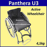 Легкая активная инвалиная коляска Panthera U3 Active Wheelchair