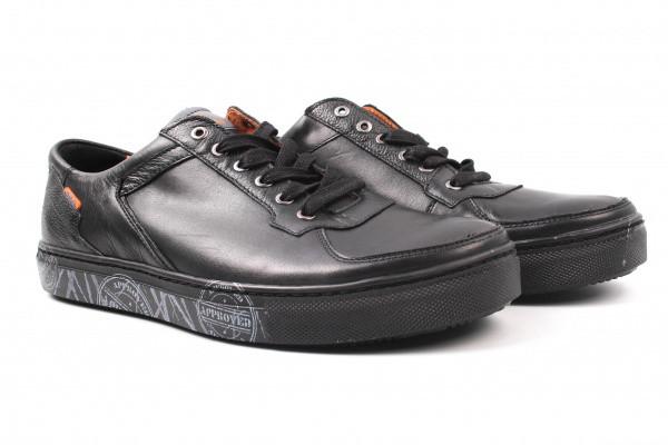 Туфлі спорт Badura натуральна шкіра, колір чорний