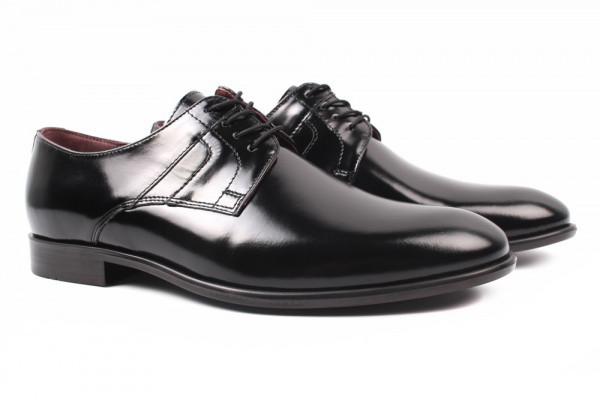 Туфли BUCCI натуральная кожа, цвет черный