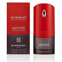 Givenchy Pour Homme Adventure Sensations (Живанши Пур Хом Адвентуре Сенсация), мужская туалетная вода, 100 ml