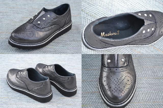 Женские туфли-брогги, Masheros фоото