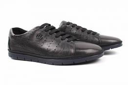 Туфли мужские комфорт Cosottinni натуральная кожа, цвет черный, размер 44