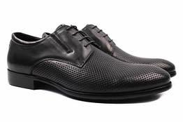 Туфли Cosottinni натуральная кожа, цвет черный