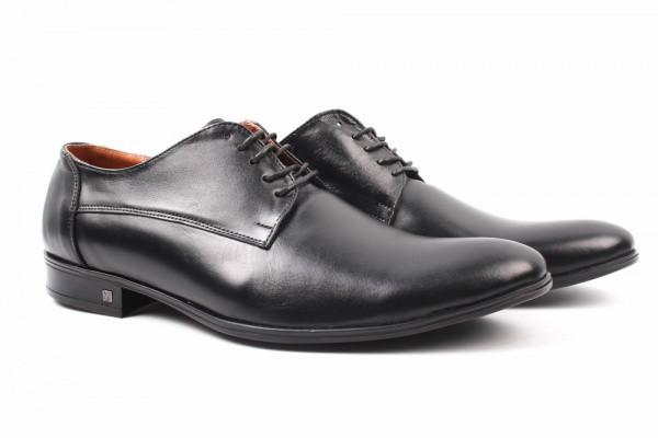 Туфли Flamanti натуральная кожа, цвет черный