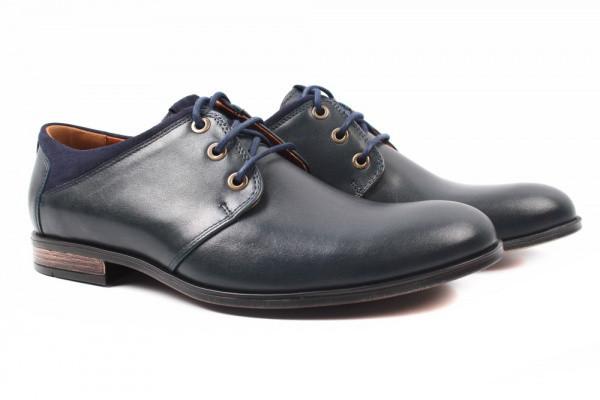 Туфли Conhpol натуральная кожа, цвет синий