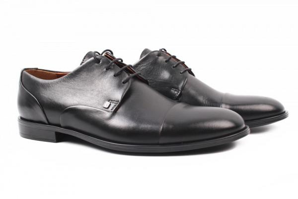 Туфли Conhpol натуральная кожа, цвет черный