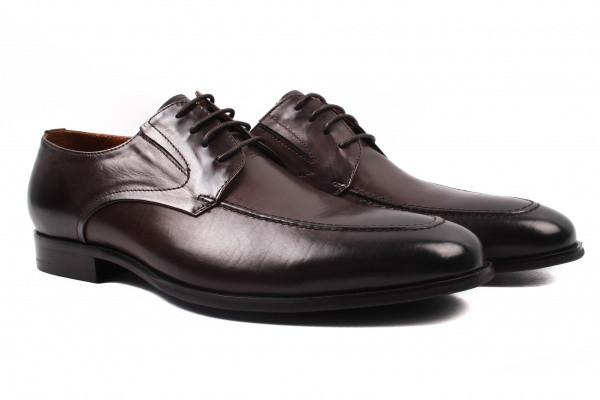 Туфли Lido Marinozzi натуральная кожа, цвет коричневый