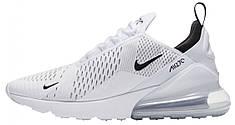 Кроссовки мужские Найк Nike Air Max 270 White. ТОП Реплика ААА класса.