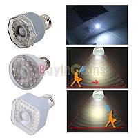 Светодиодная лампа 3W 23LED с датчиком освещенности и движения