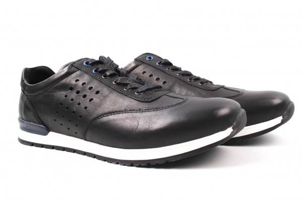 Туфлі спорт Wojas натуральна шкіра, колір чорний