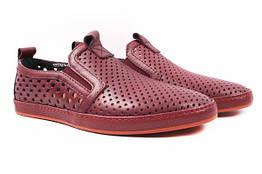 Туфли комфорт Cosottinni натуральная кожа, цвет бордо