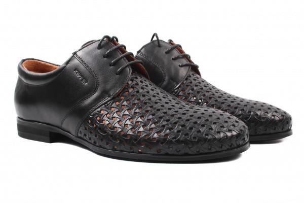 Туфли мужские Kepper натуральная кожа, цвет черный