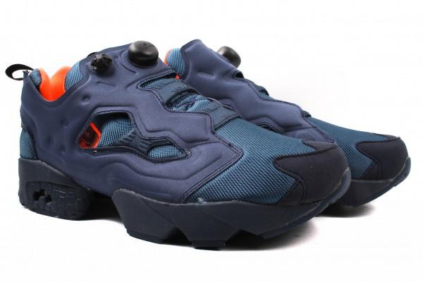 Кроссовки Reebok текстиль, цвет синий