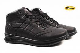 Ботинки Grisport натуральная кожа, цвет черный