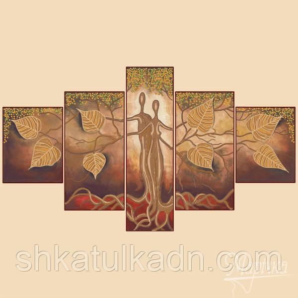 Схема для вышивки бисером Полиптих из четырех частей Узы любви ... 734520ec5c72b