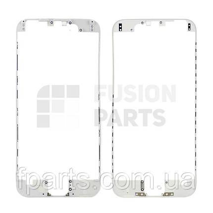Рамка дисплея iPhone 6 с термоклеем (White), фото 2