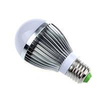 Led лампа с датчиками освещенности и звука 5W (алюминиевый корпус)