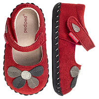 Детские босоножки Pediped Originals для девочки 18-24 мес Оригинал натуральная кожа красные фирменные Педипед