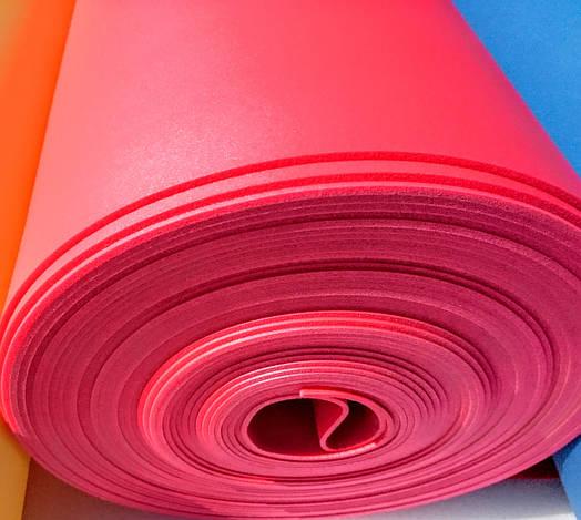 Цветной Изолон ППЭ 3002;полотно-2мм цветной КРАСНЫЙ