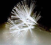 Новогодняя светодиодная гирлянда Кисть 100 LED 7 метров  БЕЛАЯ, фото 1