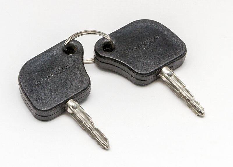 Ключ замка крышки корпуса шлагбаума DoorHan Barrier N (BRN-6)