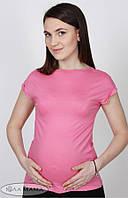 Футболка для беременных Vilora р. 50 ТМ Юла Мама Розовый S14-7.1.1