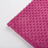 Плюш minky, цвет розово-сиреневый М-18, фото 3