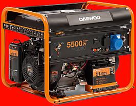 Бензиновый генератор Daewoo GDA 6500E с электростартом