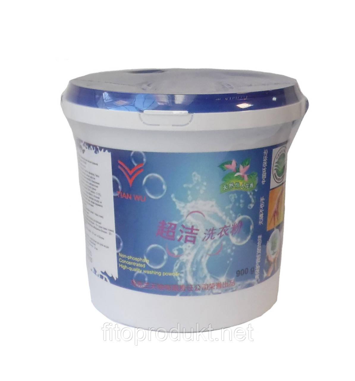 Супер чистота безфосфатний концентрований пральний порошок 900 г Тянь Ву