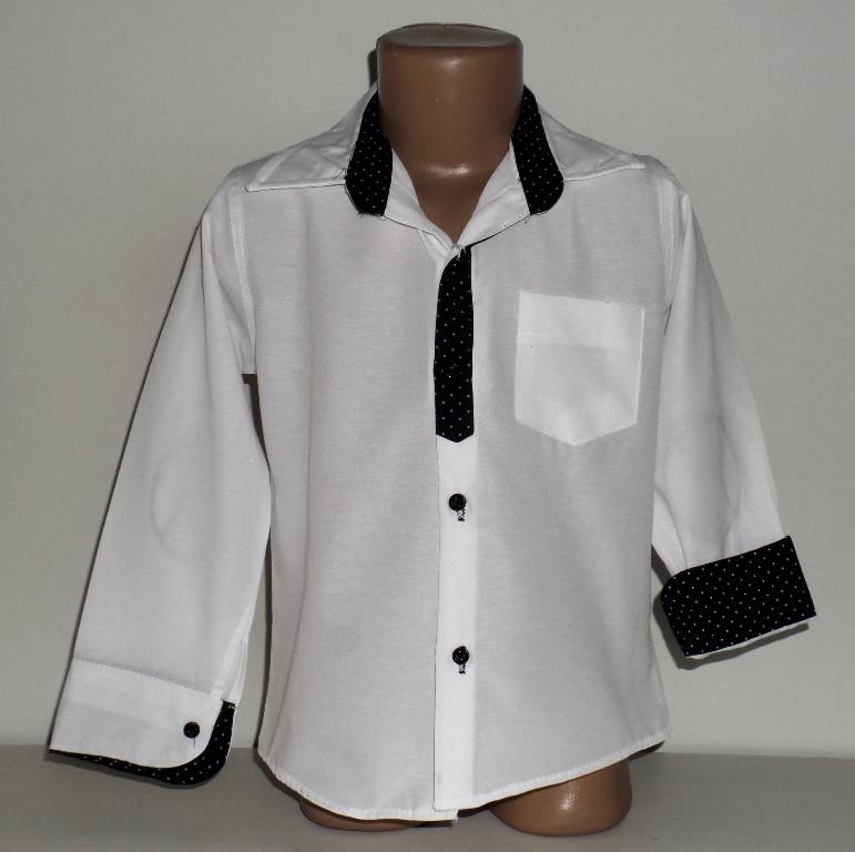 Детская  школьная рубашка на мальчика 10,11,12,13 лет