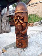 Слов'янські боги. Дажбог. Різьба по дереву, фото 1