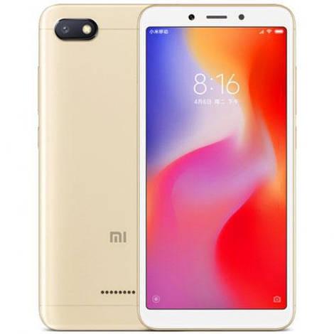 Смартфон ORIGINAL Xiaomi Redmi 6A Gold (8Х2.0Ghz; 2Gb/16Gb; 13МР/5МР; 3000 mAh)