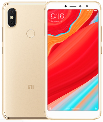 Смартфон ORIGINAL Xiaomi Redmi S2 Gold (Global) (8Х2Ghz; 4Gb/64Gb; 12МР+5МР/16МР; 3080mAh)