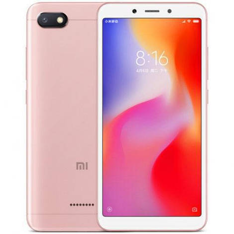 Смартфон ORIGINAL Xiaomi Redmi 6A Rose Gold (8Х2.0Ghz; 2Gb/16Gb; 13МР/5МР; 3000 mAh)